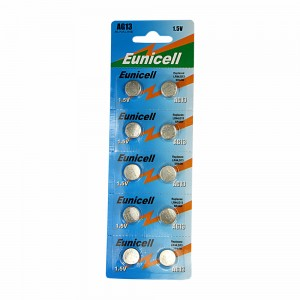 LR44 Cell Batteries (pack of 10 batteries)