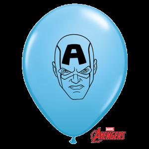 "Qualatex 5"" Avengers Assemble Balloons - Assorted Colours"