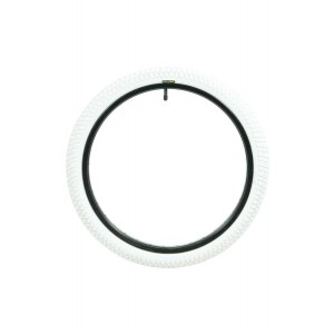 """Qu-Ax Unicycle Tyre (20"""") - White"""