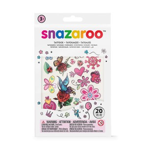 Snazaroo 20pc Temporary Tattoos - Girls