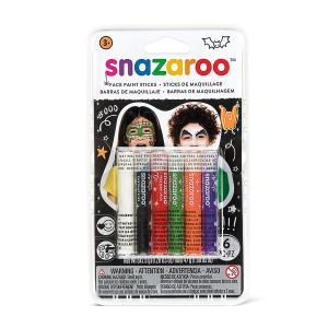 Snazaroo Snaz Face Painting Sticks Set - Halloween