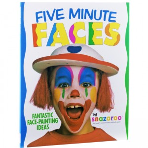 Snazaroo 5 Minute Face Painting Guide Book