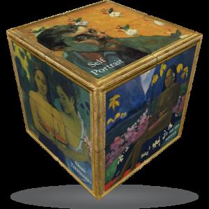 V-Cube Gaugin - 3 x 3 Flat Puzzle Cube