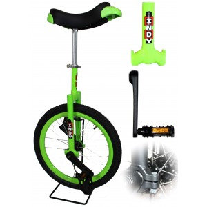 """Indy Freestyle 20"""" Unicycle - 4 Colours Available"""