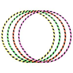 5pcs x Juggle Dream Hula Hoops Bundle - Zebra