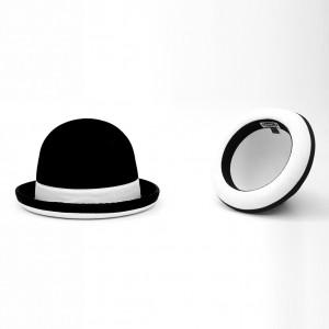 Juggle Dream Tumbler Hat - Black/White Trim Model