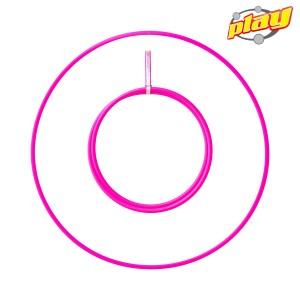 "Play Perfect Travel Hula Hoop Naked - 20mm - 100cm (39.37"")"
