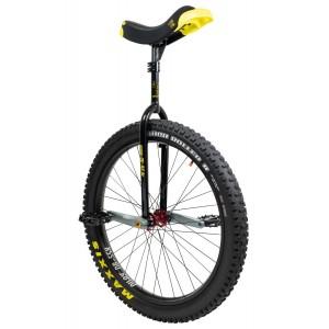 "Qu-Ax Muni 27.5"" Black Q-Axle Unicycle"