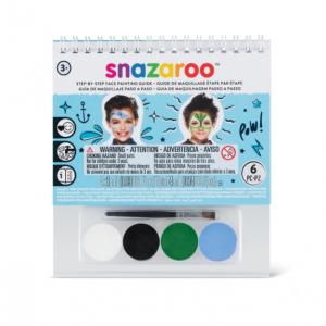 Snazaroo Under The Sea Face Painting Kit