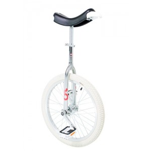 Only One - Trainer Unicycle 406 mm (20 Inch) Indoor white