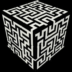 V-Cube MAZE 3 x 3 x 3 Puzzle Cube